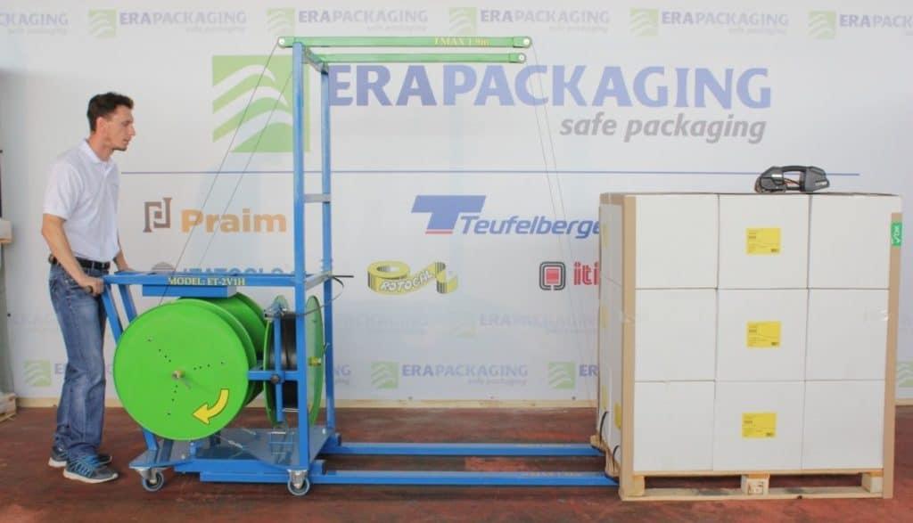 mobilni razmotac za paletno pakovanje ET 2V1H